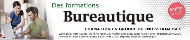 Formation Word Grenoble